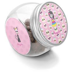 Kids Sugar Skulls Puppy Treat Jar (Personalized)