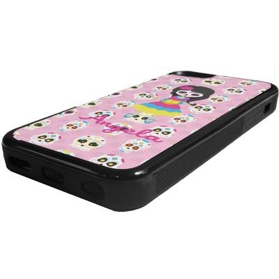 Kids Sugar Skulls Rubber iPhone 5C Phone Case ...