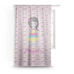 Kids Sugar Skulls Sheer Curtains (Personalized)