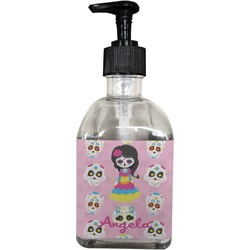 Kids Sugar Skulls Soap/Lotion Dispenser (Glass) (Personalized)