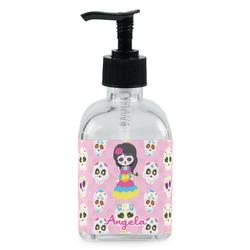 Kids Sugar Skulls Soap/Lotion Dispenser (Glass) (Personalized)