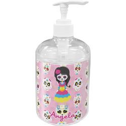 Kids Sugar Skulls Acrylic Soap & Lotion Bottle (Personalized)