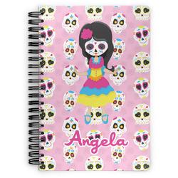 Kids Sugar Skulls Spiral Notebook (Personalized)