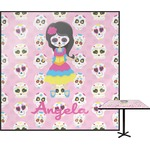 Kids Sugar Skulls Square Table Top (Personalized)