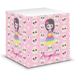 Kids Sugar Skulls Sticky Note Cube (Personalized)