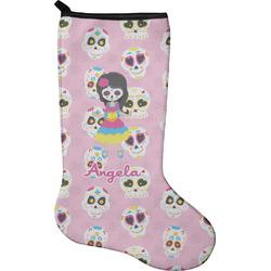 Kids Sugar Skulls Holiday Stocking - Neoprene (Personalized)