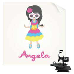 Kids Sugar Skulls Sublimation Transfer (Personalized)