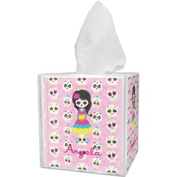 Kids Sugar Skulls Tissue Box Cover (Personalized)
