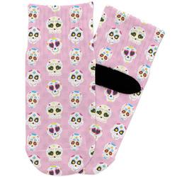 Kids Sugar Skulls Toddler Ankle Socks (Personalized)