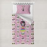 Kids Sugar Skulls Toddler Bedding w/ Name or Text
