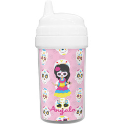 Kids Sugar Skulls Toddler Sippy Cup (Personalized)