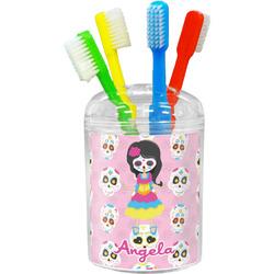 Kids Sugar Skulls Toothbrush Holder (Personalized)
