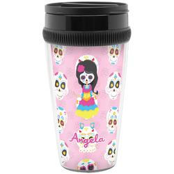 Kids Sugar Skulls Travel Mugs (Personalized)