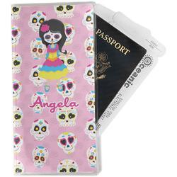 Kids Sugar Skulls Travel Document Holder