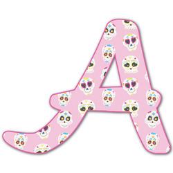 Kids Sugar Skulls Letter Decal - Custom Sized (Personalized)