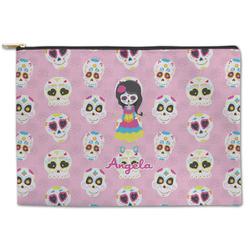 Kids Sugar Skulls Zipper Pouch (Personalized)