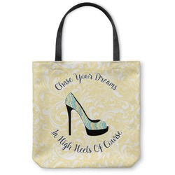 High Heels Canvas Tote Bag