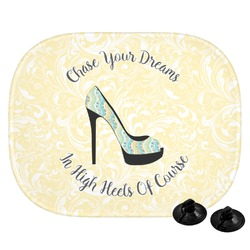 High Heels Car Side Window Sun Shade