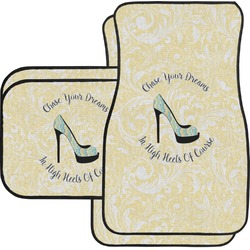 High Heels Car Floor Mats Set - 2 Front & 2 Back