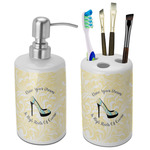 High Heels Bathroom Accessories Set (Ceramic)