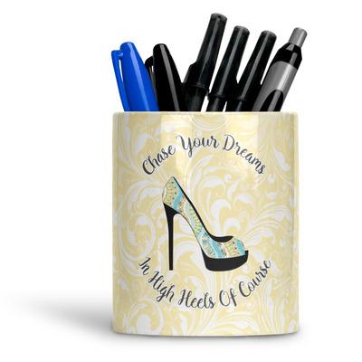 High Heels Ceramic Pen Holder