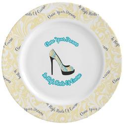 High Heels Ceramic Dinner Plates (Set of 4)