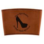 High Heels Leatherette Mug Sleeve