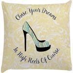 High Heels Decorative Pillow Case