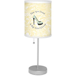 """High Heels 7"""" Drum Lamp with Shade Polyester"""