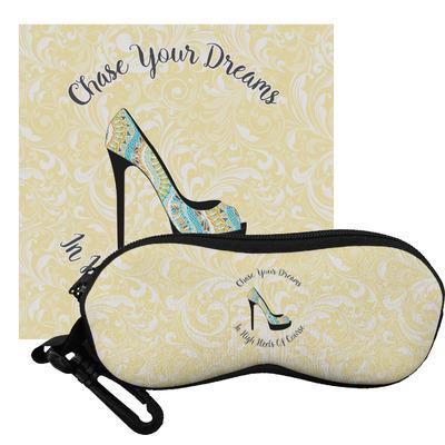 High Heels Eyeglass Case & Cloth