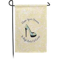 High Heels Single Sided Garden Flag With Pole
