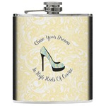 High Heels Genuine Leather Flask