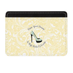 High Heels Genuine Leather Front Pocket Wallet