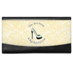 High Heels Genuine Leather Ladies Wallet