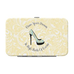 High Heels Genuine Leather Small Framed Wallet