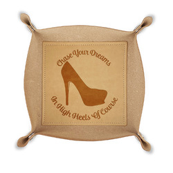 High Heels Genuine Leather Valet Tray
