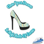 High Heels Graphic Iron On Transfer