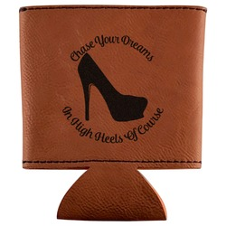 High Heels Leatherette Can Sleeve