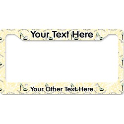 High Heels License Plate Frame