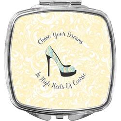 High Heels Compact Makeup Mirror