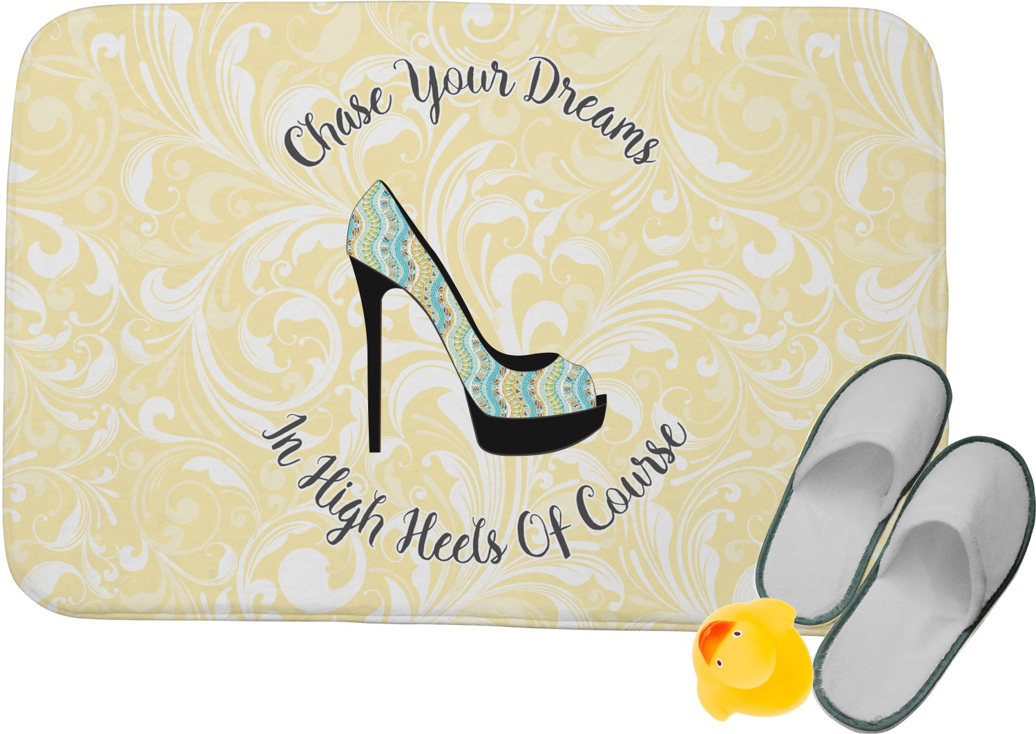 High Heels Memory Foam Bath Mat. High Heels Memory Foam Bath Mat   YouCustomizeIt