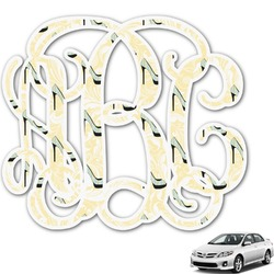 High Heels Monogram Car Decal