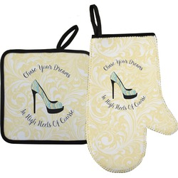 High Heels Oven Mitt & Pot Holder