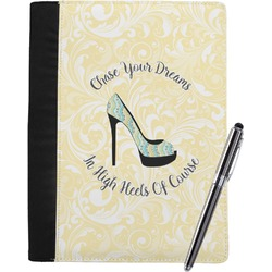 High Heels Notebook Padfolio