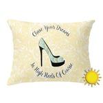 High Heels Outdoor Throw Pillow (Rectangular)