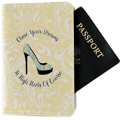High Heels Passport Holder - Fabric