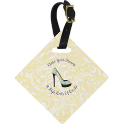 High Heels Diamond Luggage Tag
