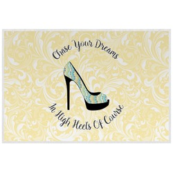 High Heels Laminated Placemat