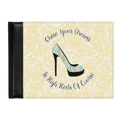 High Heels Genuine Leather Guest Book