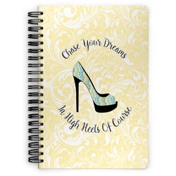 High Heels Spiral Bound Notebook